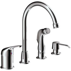 Estora Aviera Single Handle Kitchen Faucet with Lever Handle