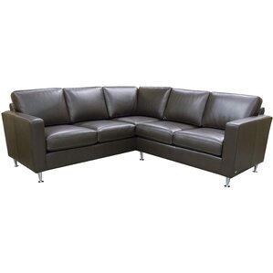 Erika Leather Sectional by..