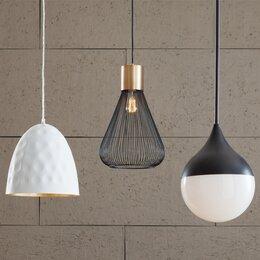 Modern contemporary ceiling lights allmodern pendant lighting aloadofball Images
