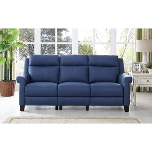 Dolce Leather Reclining Sofa by HYDELINE BY ..