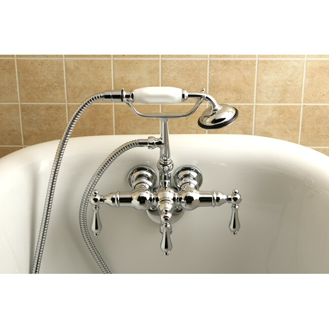 faucet for clawfoot tub with shower attachment. Vintage Clawfoot Tub Faucet Bathtub Faucets You ll Love  Wayfair