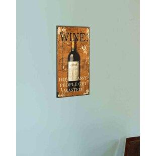 Wine Wall Decor For Kitchen Wayfair