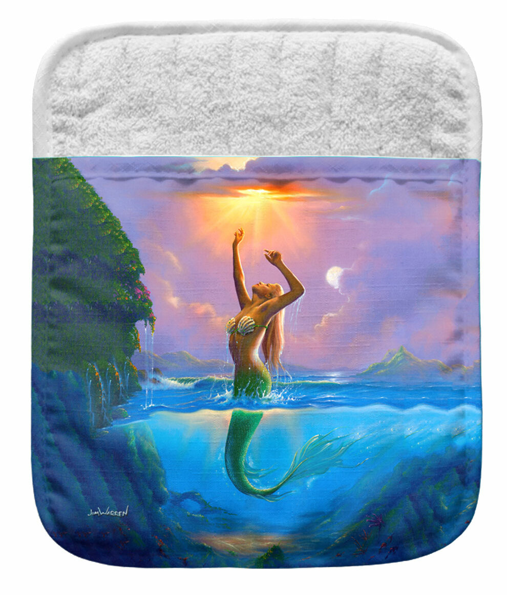 Live Free Mermaid Pocket Mitt Potholder Wayfair