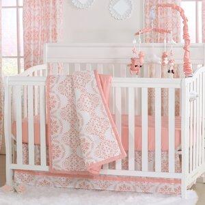 Mod Medallion 6 Piece Crib Bedding Set