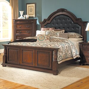 Silas Upholstered Panel Bed by Woodhaven Hill