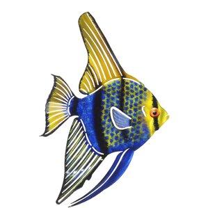 Metal Fish Wall Decor nautical metal wall art you'll love | wayfair