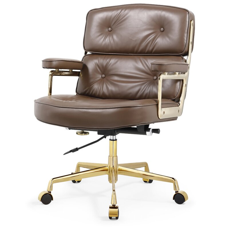 Awesome Genuine Leather Executive Chair Download Free Architecture Designs Terchretrmadebymaigaardcom