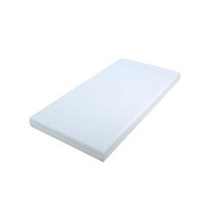 Wipe Clean Foam Mattress 70 x 140 cm by East Coast