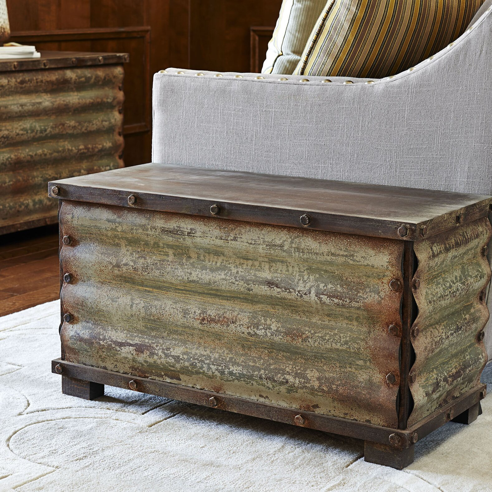 Corrugated Coffee Table trunks - Household Essentials Corrugated Coffee Table Trunks & Reviews