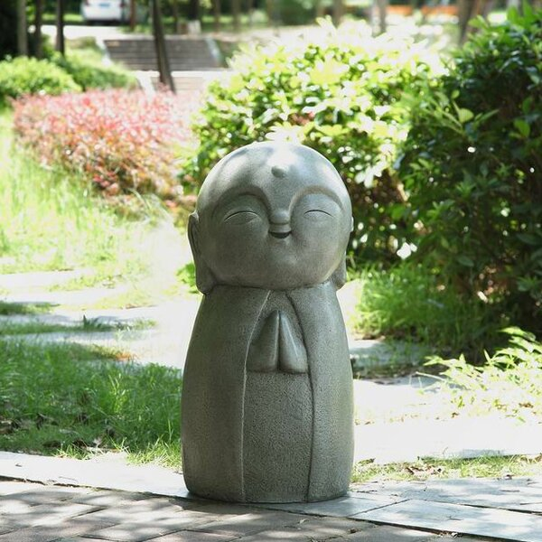 Hi Line Gift Ltd Praying Lucky Japanese Jizo Statue