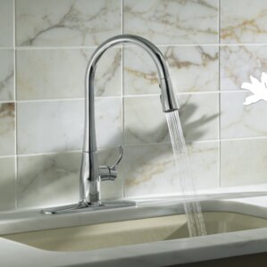 Simplice Kitchen Sink Faucet With 16 5/8