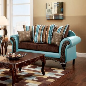 Rovena Transitional Loveseat by Hokku Designs