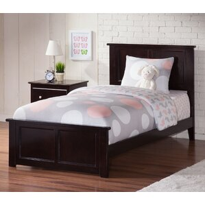 Alanna Traditional Panel Bed by Harriet Bee