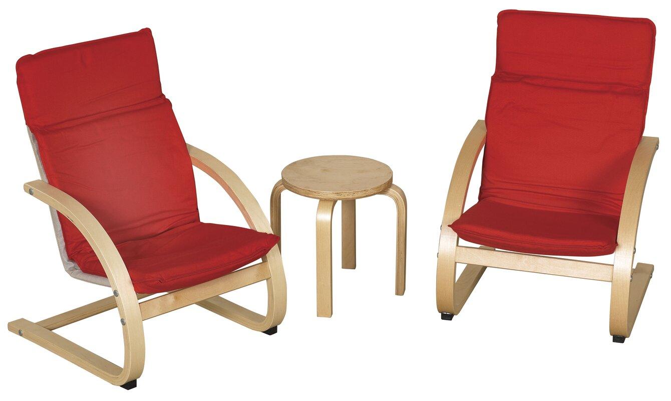 Kids 4 Piece Table & Chair Set