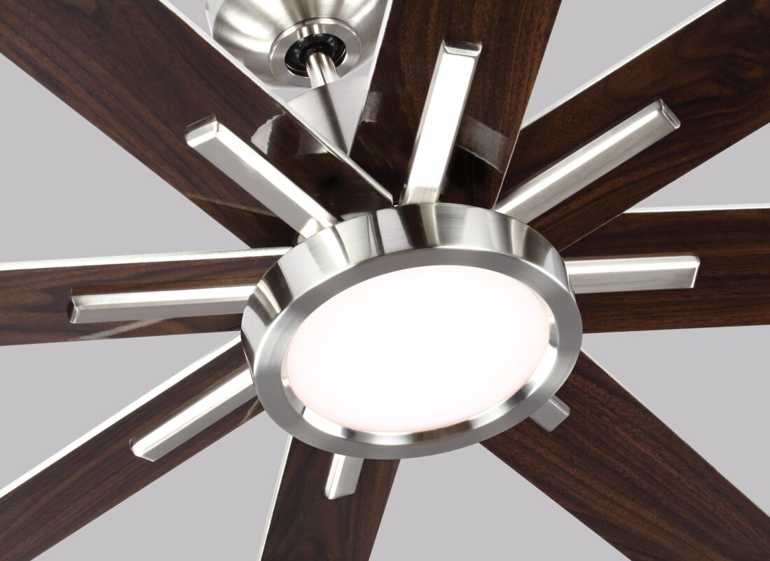 Wade Logan 60 Quot Woodlynne 8 Blade Outdoor Ceiling Fan With