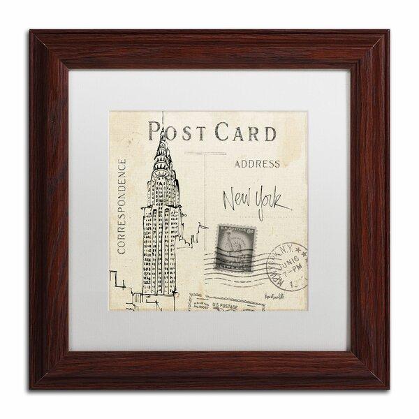 Trademark Art Postcard Sketches I By Anne Tavoletti