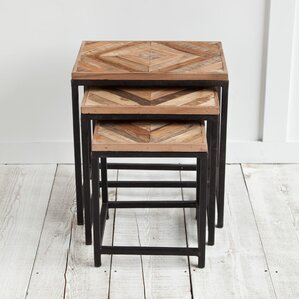 Courtyard 3 Piece Nesting Tables by Mistana