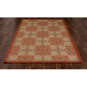 Plymouth Tan Indoor/Outdoor Area Rug