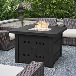 Propane Gas Firepit Table