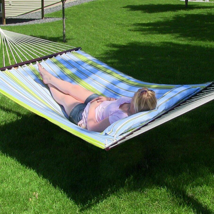Sunnydaze Decor Polyester Tree Hammock Amp Reviews Wayfair