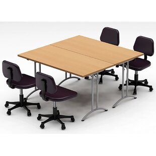 Square Shaped Conference Tables Youll Love Wayfair - Square conference room table