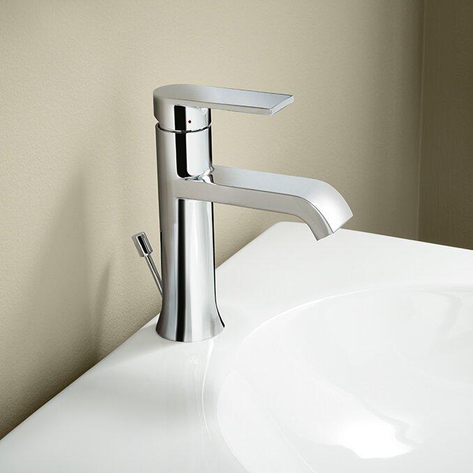 bathroom faucets. Genta Single Handle Bathroom Faucet Moen  Reviews Wayfair