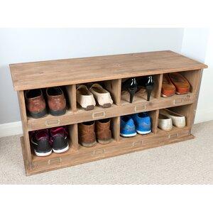 Schuhschrank für 8 Paar Schuhe von Laurel Foun..
