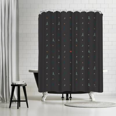 NDTank Camping Shower Curtain