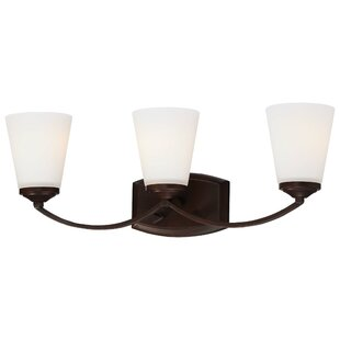Parish 3 Light Vintage Bronze Vanity