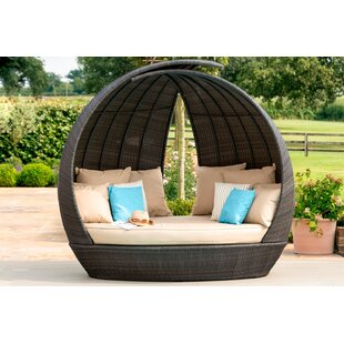 Eastlake Garden Daybed with Cushions by Lynton Garden