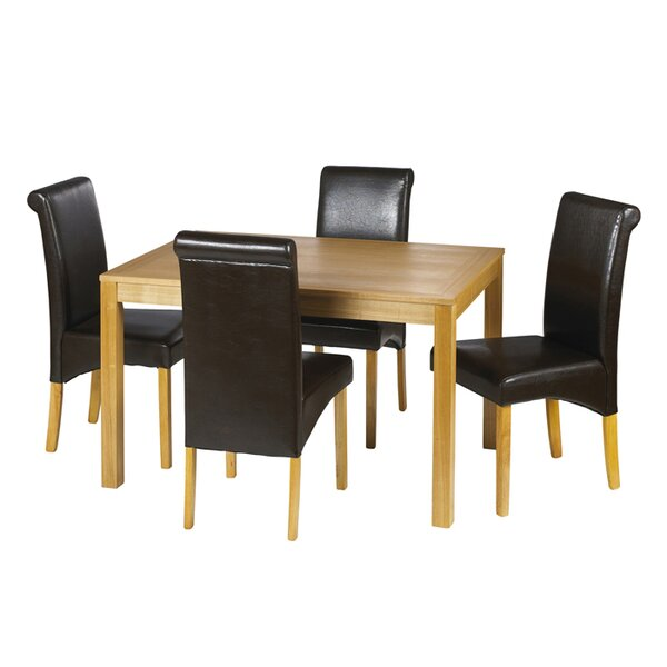 wooden min table stylish seater four sets room set dining