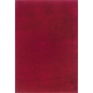 Mazon Solid Red Area Rug