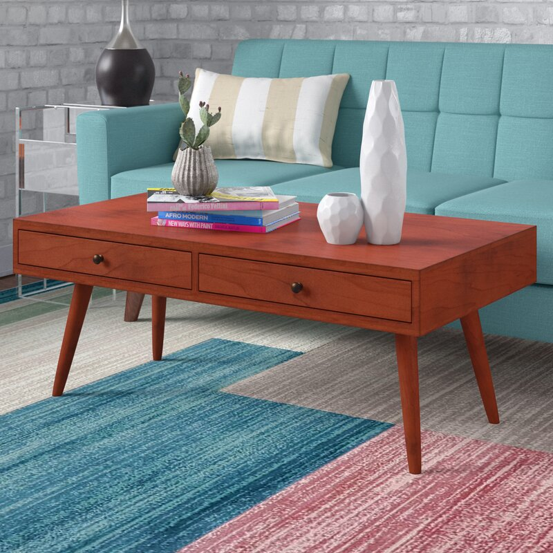 Langley Street Grant Modern Coffee Table With Storage Reviews