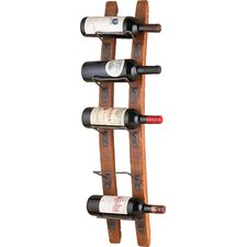 kain 5 bottle wall mounted wine rack