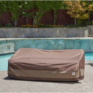 Outdoor Curved Sofa Cover | Wayfair