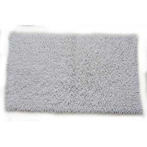 Modern Bath Rugs Mats AllModern - Black chenille bath rug for bathroom decorating ideas