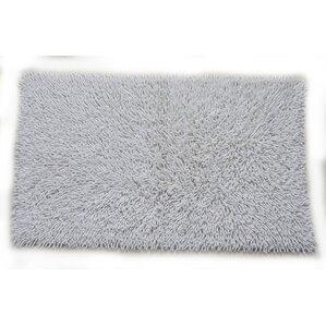 Modern Bath Rugs Mats AllModern - Black chenille bath rug for bathroom decorating ideas