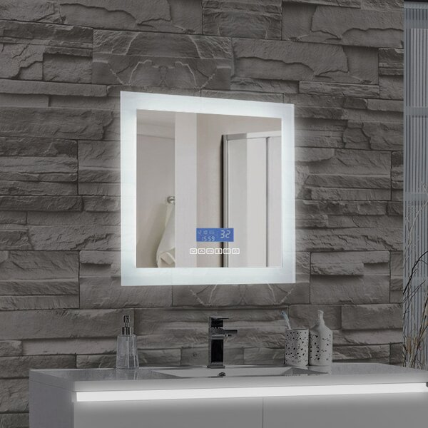 MTDVanities Encore LED Illuminated Bathroom Wall Mirror With Built In Bluetooth Audio Speaker Reviews