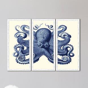 navy blue wall art Navy Blue Wall Art Canvas | Wayfair navy blue wall art