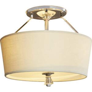 Gildersleeve 3-Light Semi Flush Mount