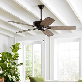 Farmhouse rustic ceiling fans birch lane whisenant 52 colony max 5 blade led ceiling fan with remote aloadofball Gallery