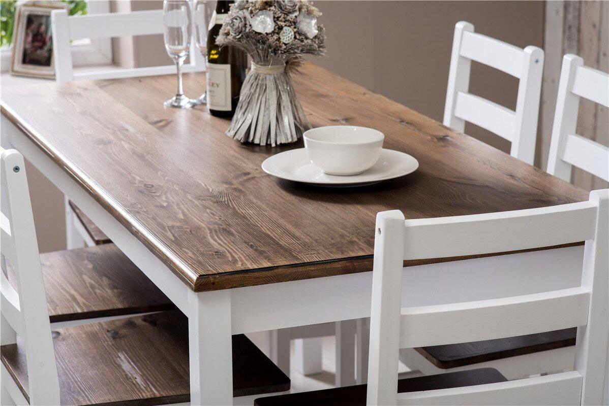 laurel foundry essgruppe manville mit 6 st hlen. Black Bedroom Furniture Sets. Home Design Ideas