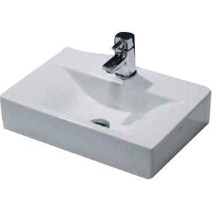 Cassellie 46 cm Aufsatzwaschbecken