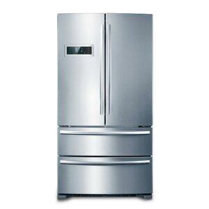 20.8 cu.ft. Counter Depth 4-Door Counter-Depth French Door Refrigerator
