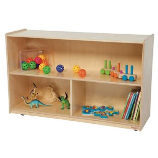 3 Compartment Shelving Unit With Casters. By Wood Designs