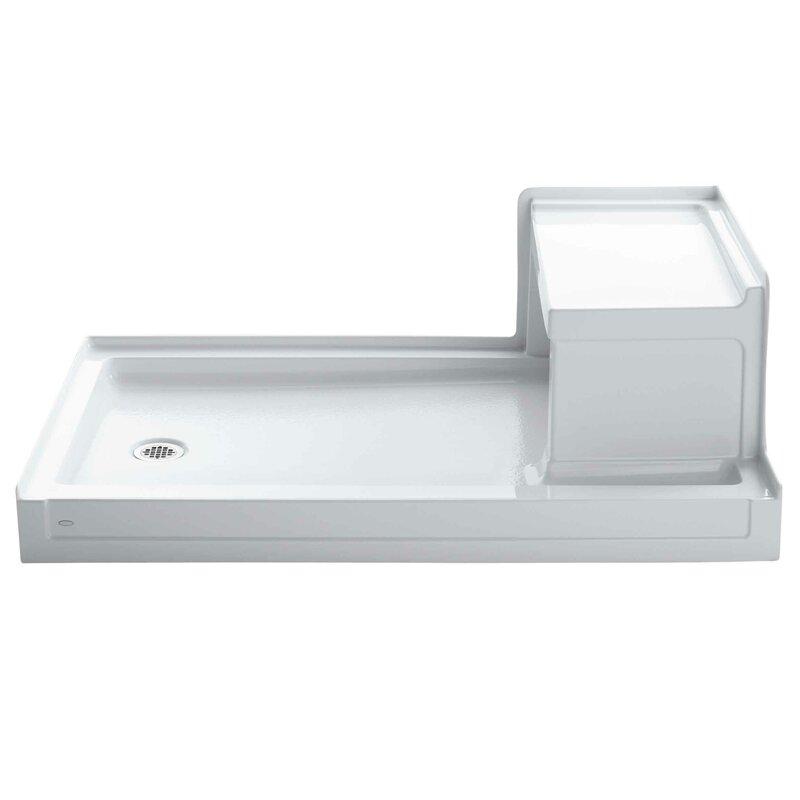 Kohler Tresham 60 X 36 Single Threshold Left Hand Drain Shower