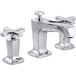 Margaux Widespread Bathroom Sink Faucet with Cross Handles