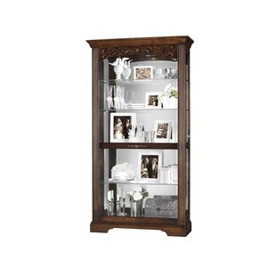 Bogner Lighted Curio Cabinet