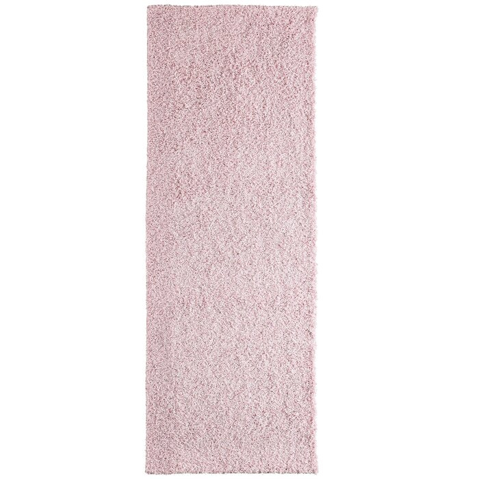 Modern Blush Pink Area Rug