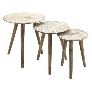 Charlita Round 3 Piece Nesting Tables